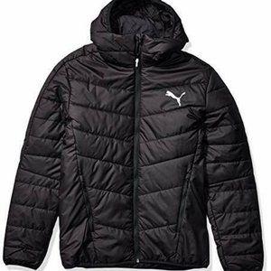 PUMA Men's Medium Black WARMCELL Padded Jacket